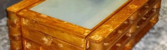 Mesa de centro arcón