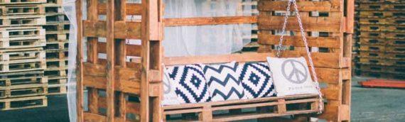 Decoración zen en tu terraza con ayuda de los muebles de palets