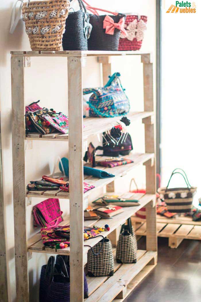 estanteria palets burgos palets y muebles