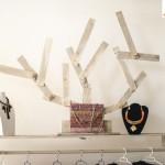 decoracion-árbol, muebles con palets