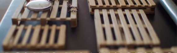 Palets en miniatura a escala