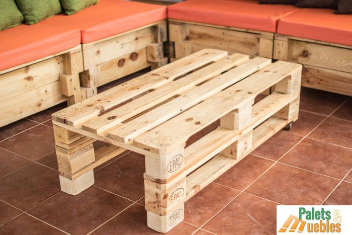 Mesa hecha con palets de madera images - Mesa de palets ...