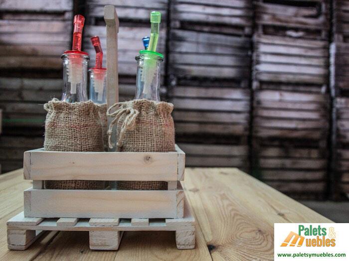 Combo para aceite y vinagre de dise o palets y muebles for Aceite para muebles de madera