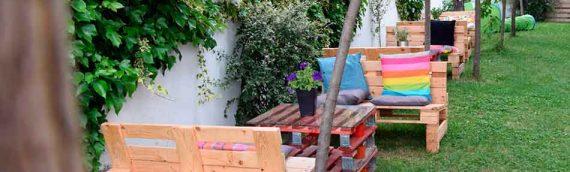 Nuevas ideas decorativas de muebles para tu terraza hechos de palets