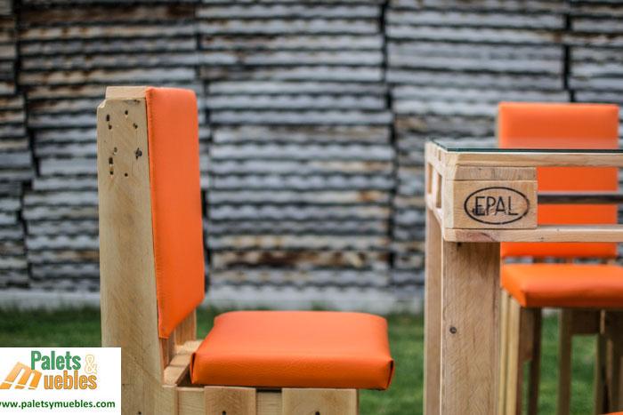 Silla hecha con palets palets y muebles - Sillas con palets ...