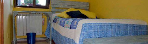 Dormitorio juvenil de palets