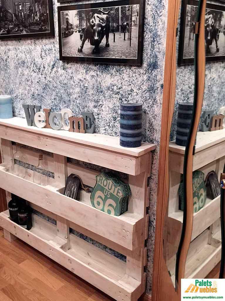 Palets reciclados palets recicladas palser muebles con for Muebles de jardin con palets reciclados