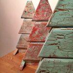 arboles de Navidad con Autentico Chalk Paint