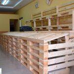 mobiliario con palets