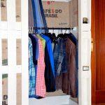 armario con tablas de palets