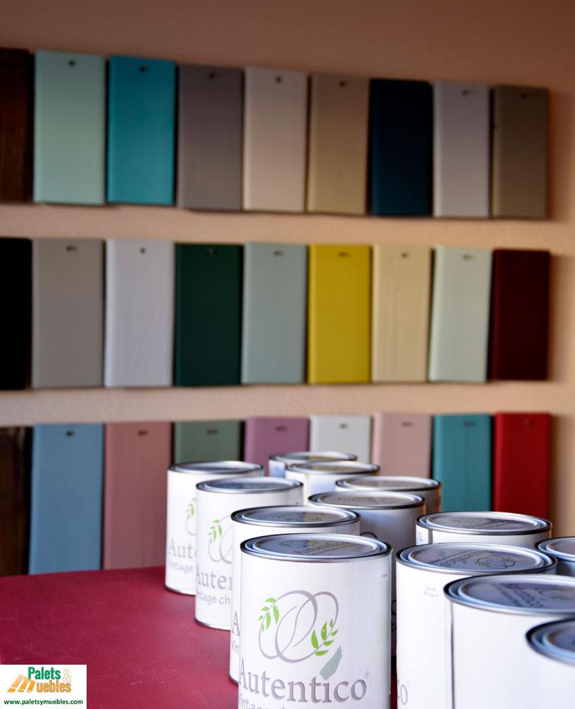 Pintura de tiza autentico palets y muebles - Pintura de tiza ...