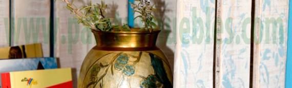 Jaulas de Madera decoradas con Autentico Chalk Paint