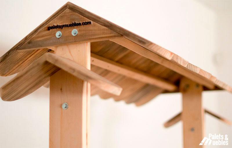 Carrito con palets para todo palets y muebles for Muebles de jardin con palets reciclados