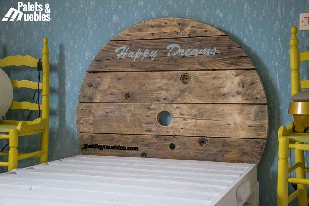 dormitorio con palets salamanca