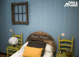 dormitorio de palets cadiz