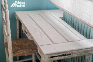 dormitorio con palets zamora