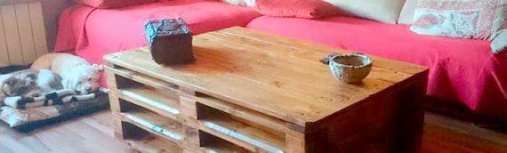 Los mejores muebles con palets reciclados