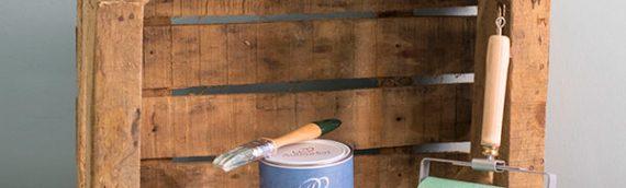 Tratamiento de la madera de los muebles de palets