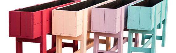 Huerto Urbano de madera