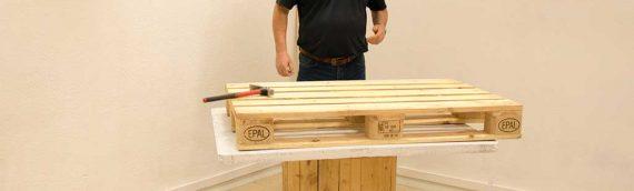 Como sacar los clavos de las tablas de un palet