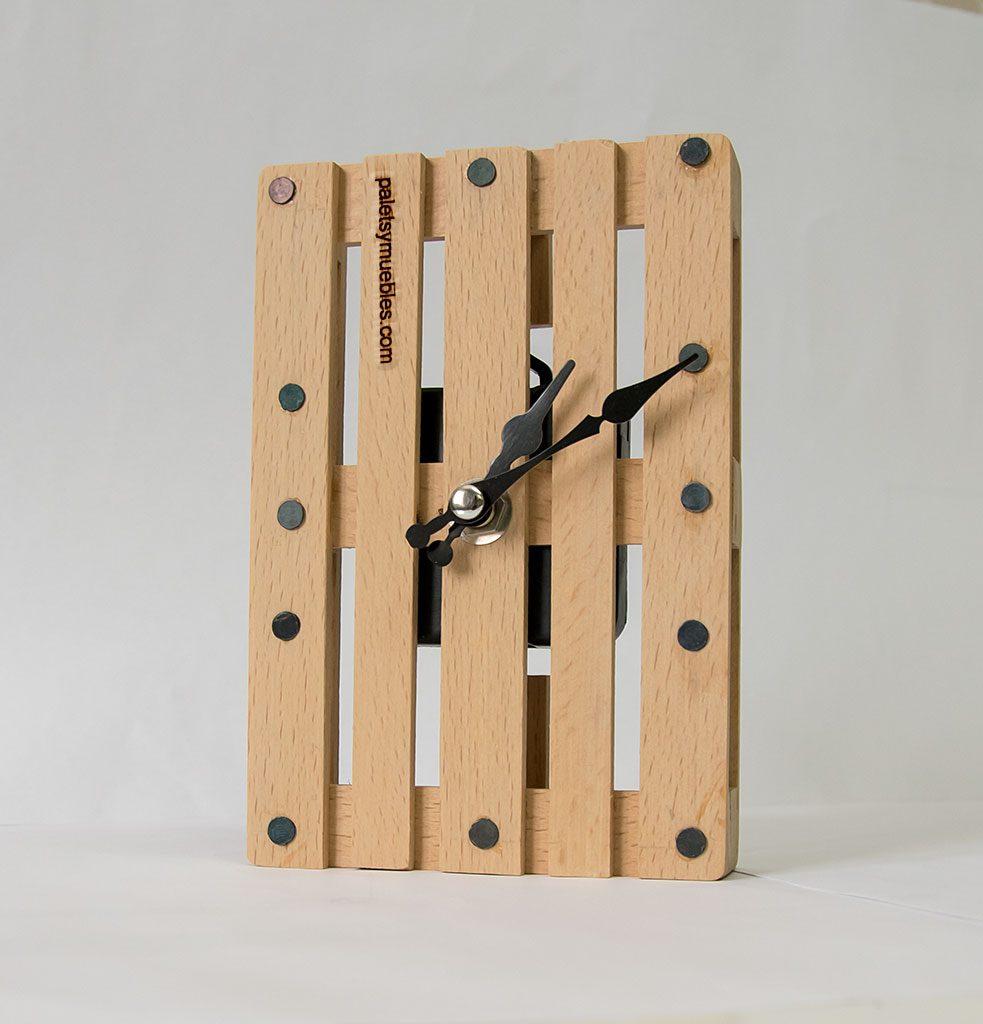 Palets miniatura Reloj de pared